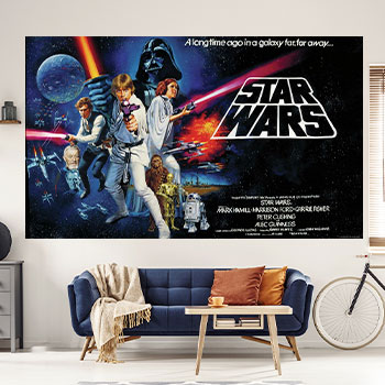 Star Wars Classic Wallpaper Mural Decal