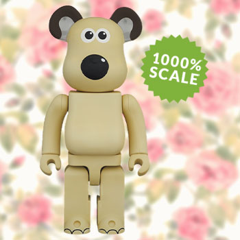 Be@rbrick Gromit 1000% Collectible Figure
