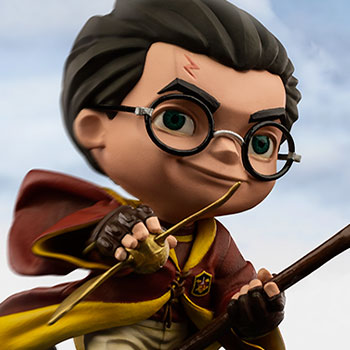 Harry Potter at the Quidditch Match Mini Co. Collectible Figure