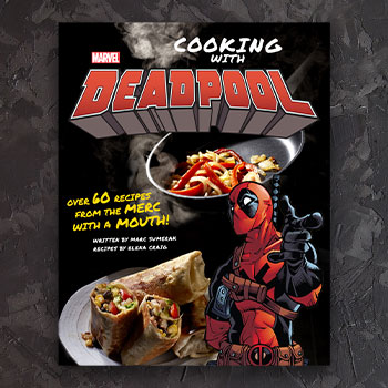 Marvel Comics: Cooking with Deadpool Book