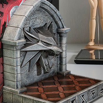 The Witcher 3: Wild Hunt Bookends Office Supplies