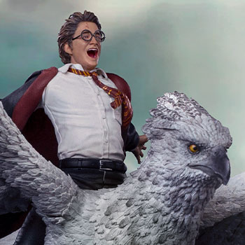 Harry Potter & Buckbeak Deluxe 1:10 Scale Statue