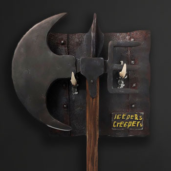 The Creeper's Battle Axe Prop Replica