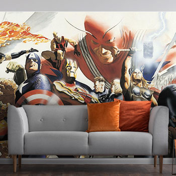 Marvel Alex Ross Wallpaper Mural Mural