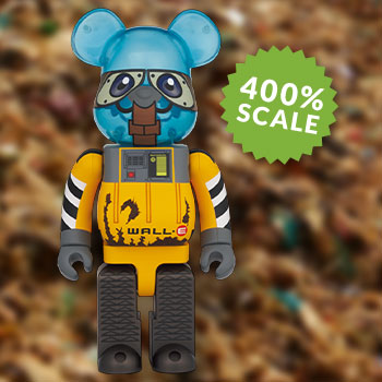 Be@rbrick Wall – E 400% Collectible Figure