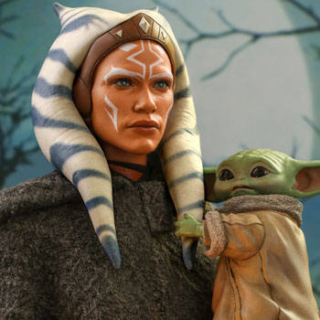 Ahsoka Tano and Grogu Sixth Scale Figure Set