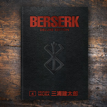 Berserk Deluxe Volume 4 Book