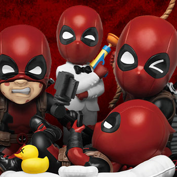 Deadpool Mini Egg Attack Series Collectible Set