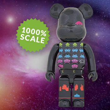 Be@rbrick Space Invaders 1000% Collectible Figure