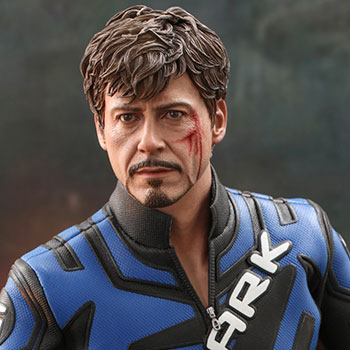 Tony Stark (Mark V Suit Up Version) Sixth Scale Figure