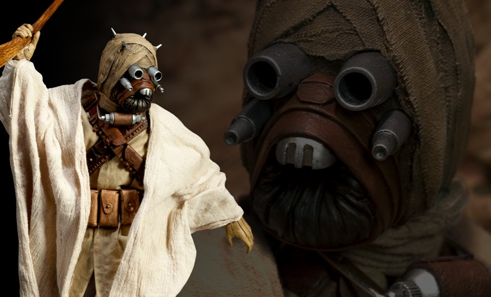 Gallery Feature Image of Tusken Raider Sixth Scale Figure - Click to open image gallery