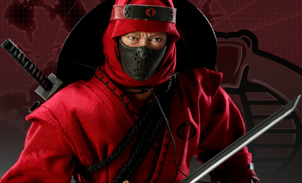 Gallery Feature Image of Red Ninja Sixth Scale Figure - Click to open image gallery