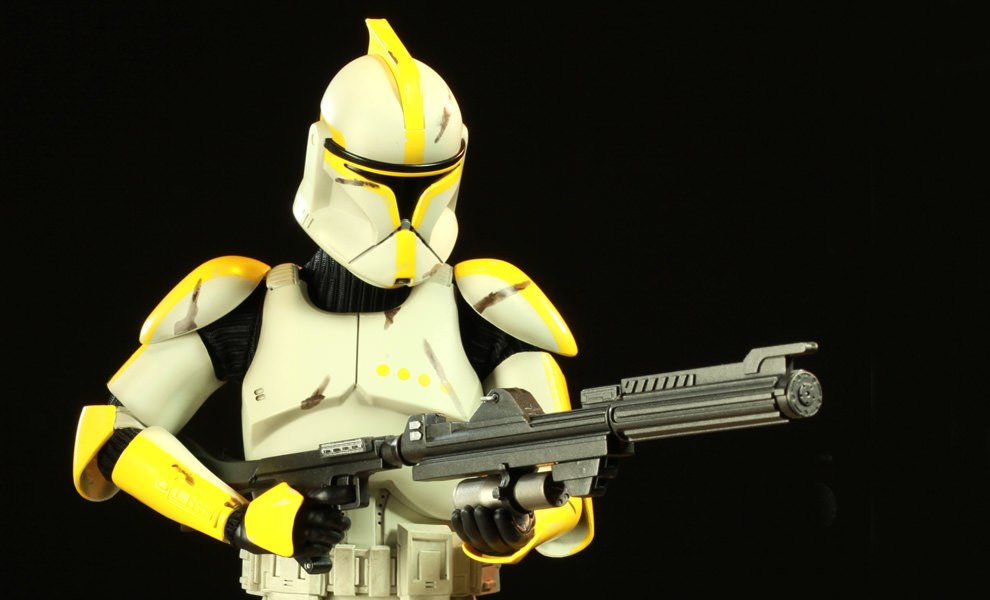 Gallery Feature Image of Clone Commander Sixth Scale Figure - Click to open image gallery