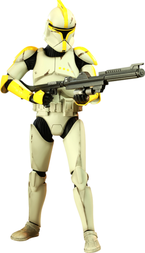 Clone Commander Sixth Scale Figure