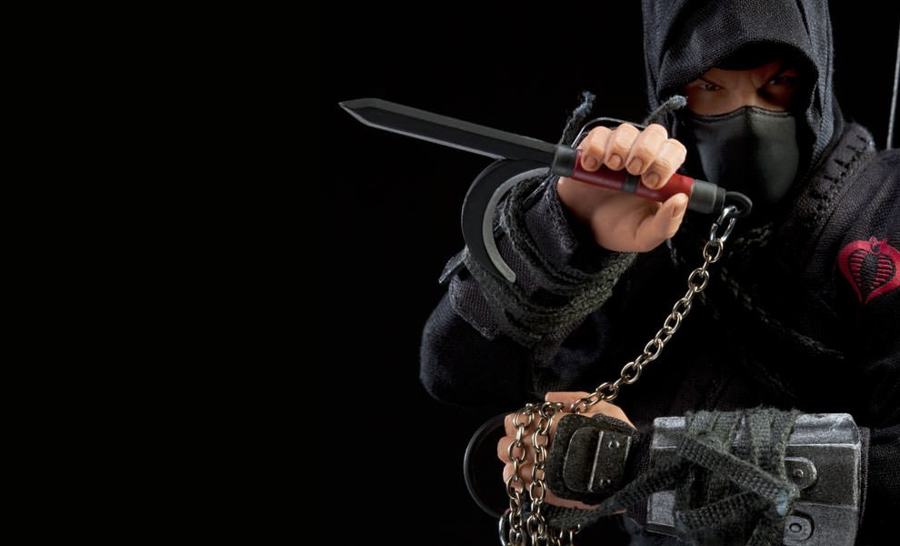 Gallery Feature Image of Black Dragon Ninja Sixth Scale Figure - Click to open image gallery