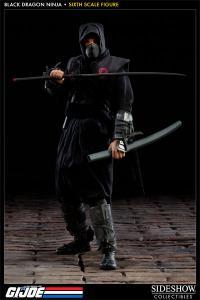Gallery Image of Black Dragon Ninja Sixth Scale Figure