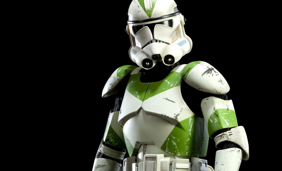Gallery Feature Image of 442nd Siege Battalion Clone Trooper Sixth Scale Figure - Click to open image gallery