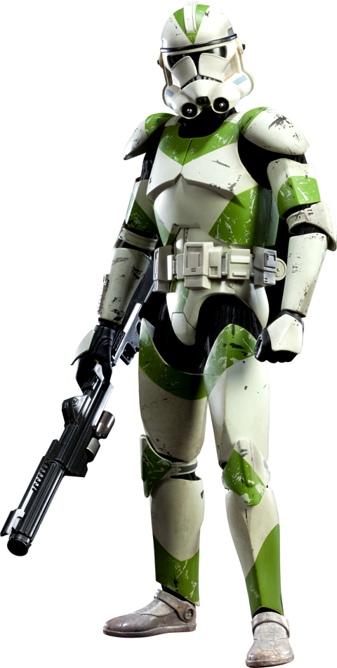 Sideshow Collectibles 442nd Siege Battalion Clone Trooper Sixth Scale Figure