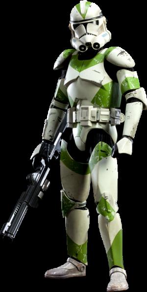 442nd Siege Battalion Clone Trooper Sixth Scale Figure