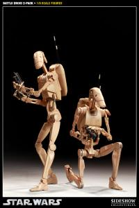 Gallery Image of Infantry Battle Droids Sixth Scale Figure