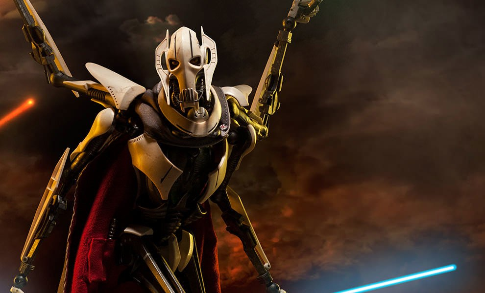 Gallery Feature Image of General Grievous Sixth Scale Figure - Click to open image gallery
