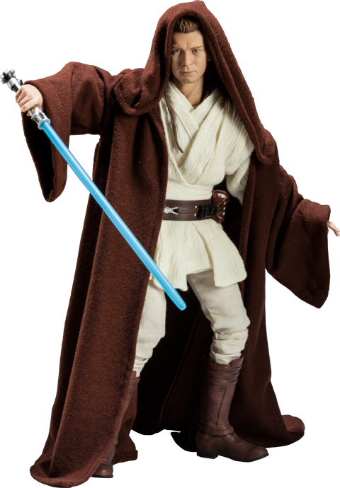 Sideshow Collectibles Obi-Wan Kenobi: Jedi Padawan Sixth Scale Figure