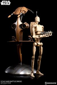Gallery Image of S.T.A.P. and Battle Droid Sixth Scale Figure