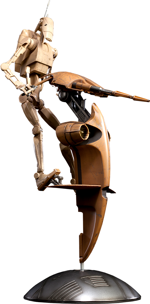Sideshow Collectibles S.T.A.P. and Battle Droid Sixth Scale Figure