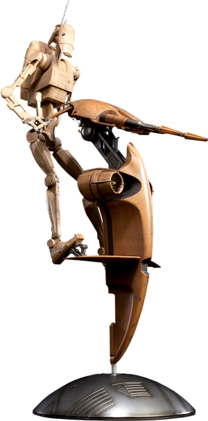 S.T.A.P. and Battle Droid Sixth Scale Figure