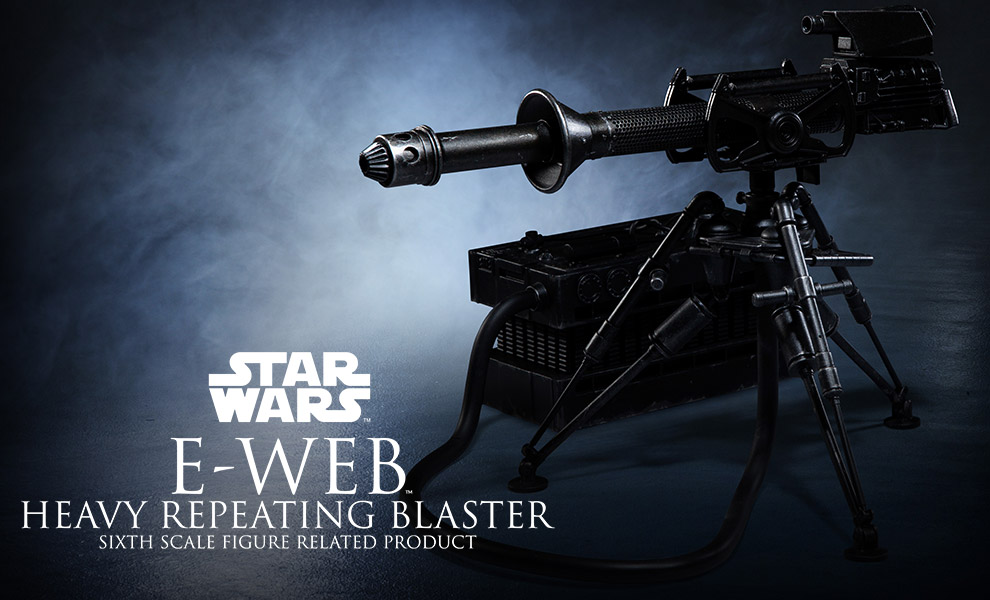 Gallery Feature Image of E-Web Heavy Repeating Blaster Sixth Scale Figure Accessory - Click to open image gallery
