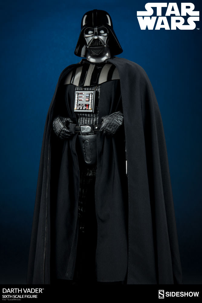 Star Wars Darth Vader Sixth Scale Figure By Sideshow Collect