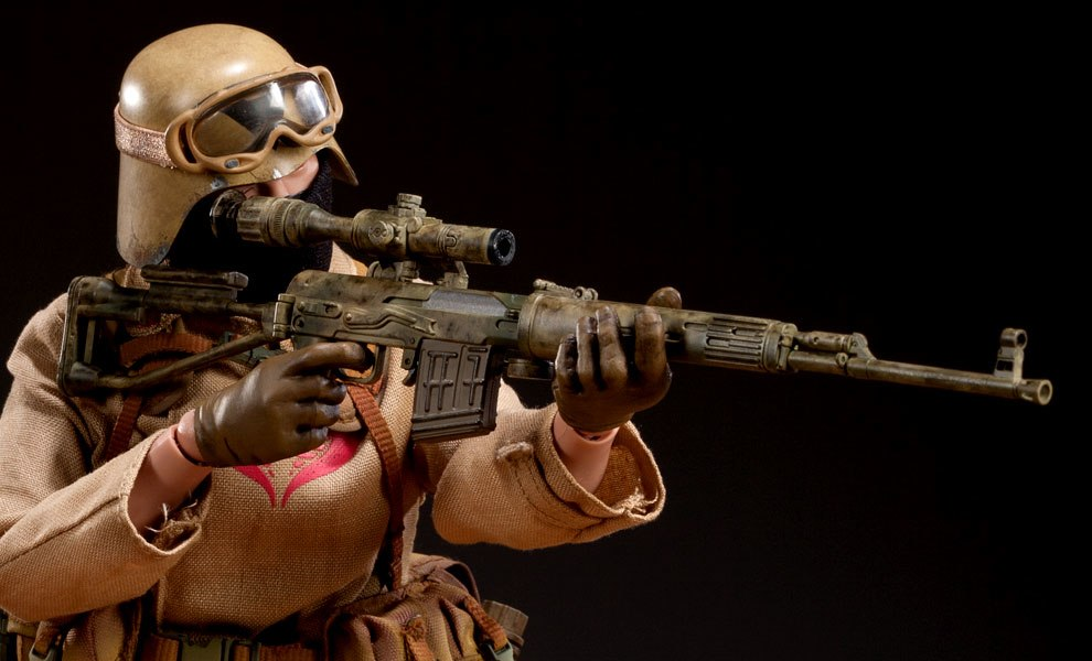 Gallery Feature Image of Desert Ops Trooper: Sniper Sixth Scale Figure - Click to open image gallery
