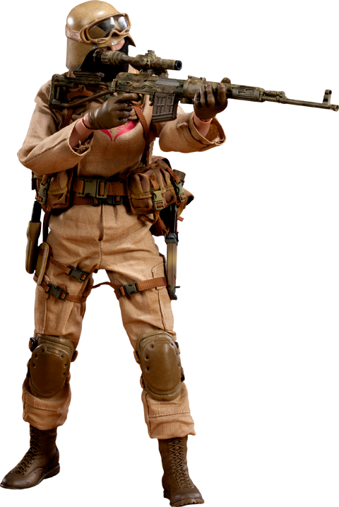 Sideshow Collectibles Desert Ops Trooper: Sniper Sixth Scale Figure