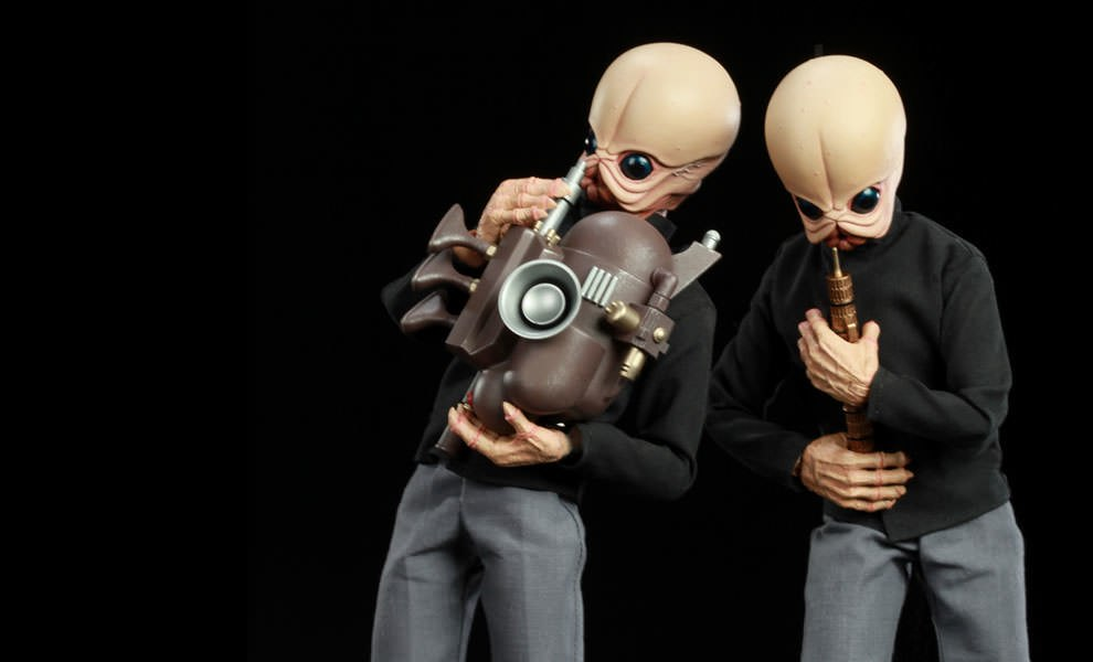 Gallery Feature Image of Tedn Dhai and Nalan Cheel Bith Band - Modal Nodes Sixth Scale Figure - Click to open image gallery