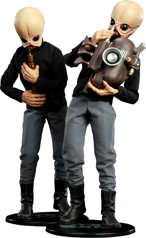 Sideshow Collectibles Tedn Dhai and Nalan Cheel Bith Band - Modal Nodes Sixth Scale Figure