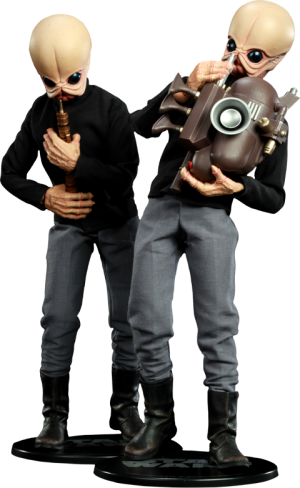Tedn Dhai and Nalan Cheel Bith Band - Modal Nodes Sixth Scale Figure