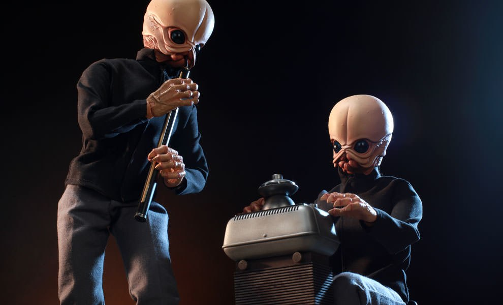 Gallery Feature Image of Tech Mo'r and Doikk Na'ts Bith Band - Modal Nodes Sixth Scale Figure - Click to open image gallery