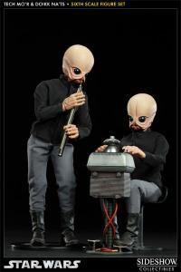 Gallery Image of Tech Mo'r and Doikk Na'ts Bith Band - Modal Nodes Sixth Scale Figure