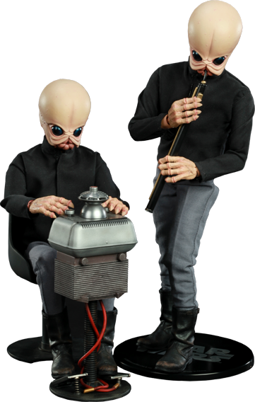 Sideshow Collectibles Tech Mo'r and Doikk Na'ts Bith Band - Modal Nodes Sixth Scale Figure