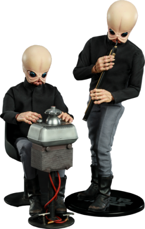 Tech Mo'r and Doikk Na'ts Bith Band - Modal Nodes Sixth Scale Figure