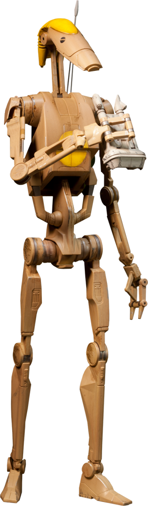 OOM-9 Battle Droid Commander Sixth Scale Figure