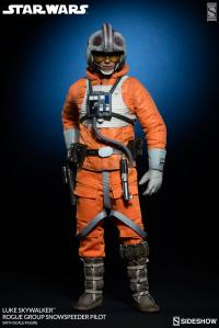 Gallery Image of Luke Skywalker Rogue Group Snowspeeder Pilot Sixth Scale Figure