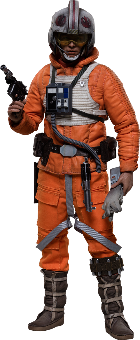 Sideshow Collectibles Luke Skywalker Rogue Group Snowspeeder Pilot Sixth Scale Figure