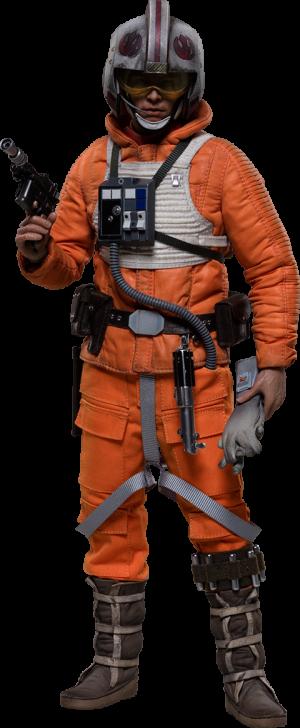 Luke Skywalker Rogue Group Snowspeeder Pilot Sixth Scale Figure
