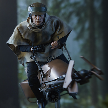 Speeder Bike Star Wars Sixth Scale Figure Accessory