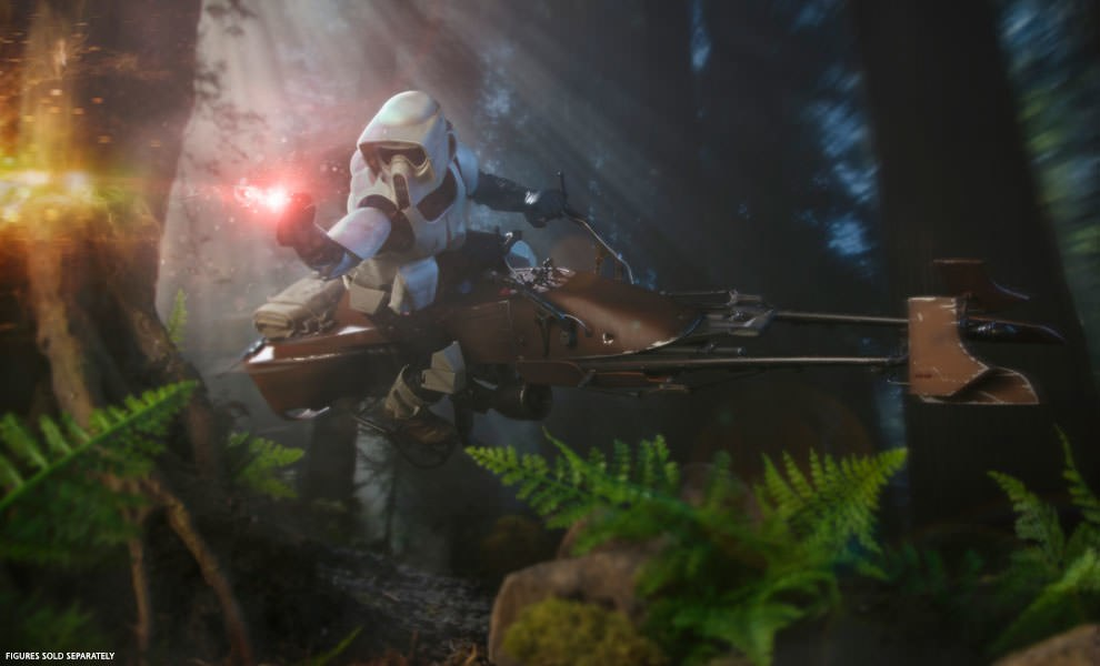 Gallery Feature Image of Speeder Bike Sixth Scale Figure Accessory - Click to open image gallery