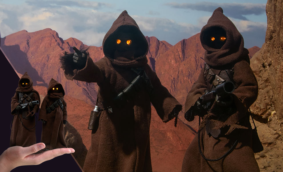 Gallery Feature Image of Jawa Sixth Scale Figure - Click to open image gallery