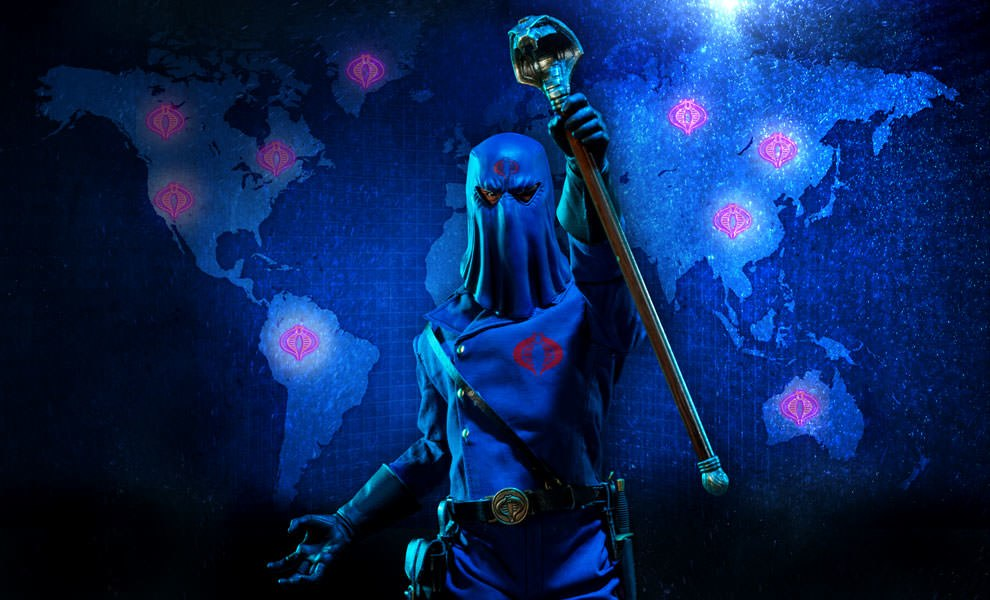 Gallery Feature Image of Cobra Commander Sixth Scale Figure - Click to open image gallery