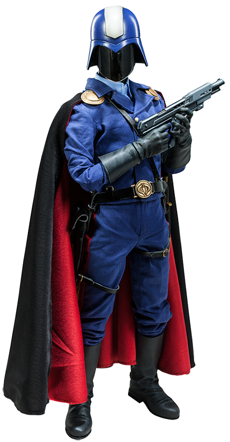 Sideshow Collectibles Cobra Commander Sixth Scale Figure