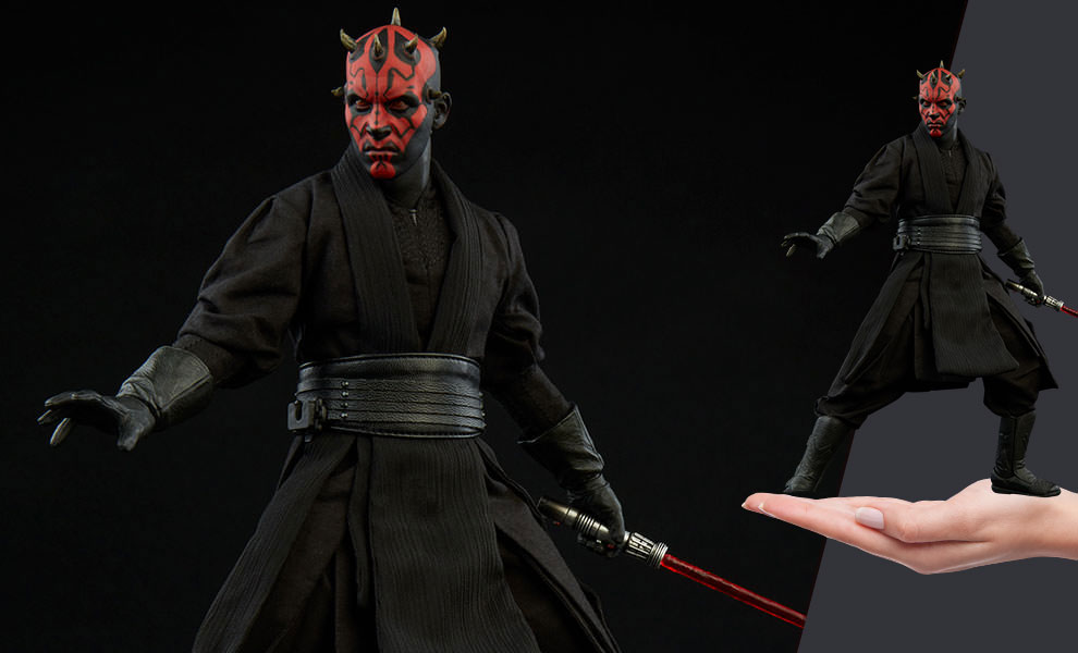 Gallery Feature Image of Darth Maul Duel on Naboo Sixth Scale Figure - Click to open image gallery
